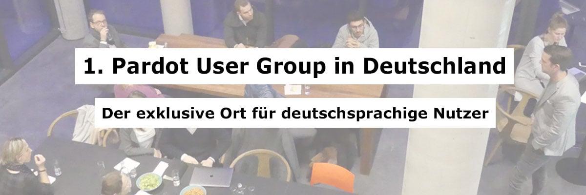 1. Pardot User Group in Deutschland