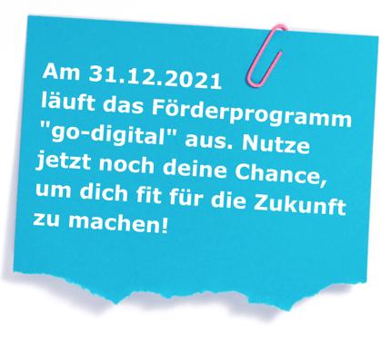 GoDigital Förderprogramm Sticker