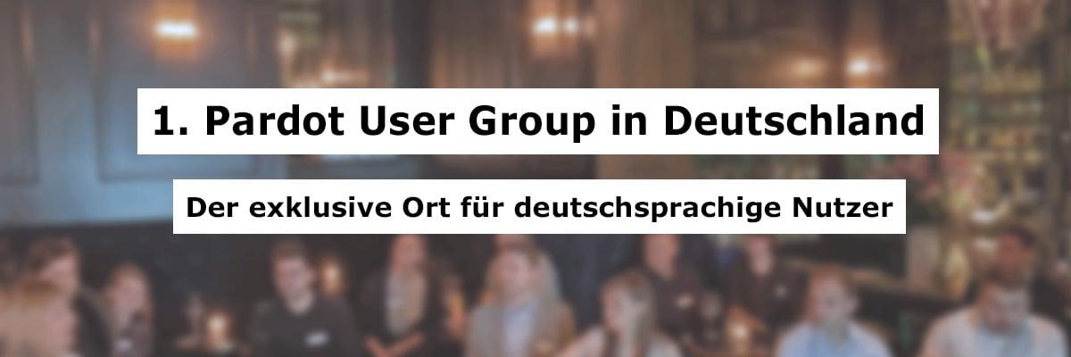 1. Pardot User Group Deutschland